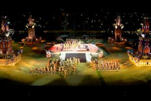 IX Pacific Games opening in Port Moresby, PNG. Photo credit. ABC website